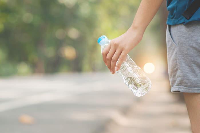 Bebe mucha agua para adelgazar